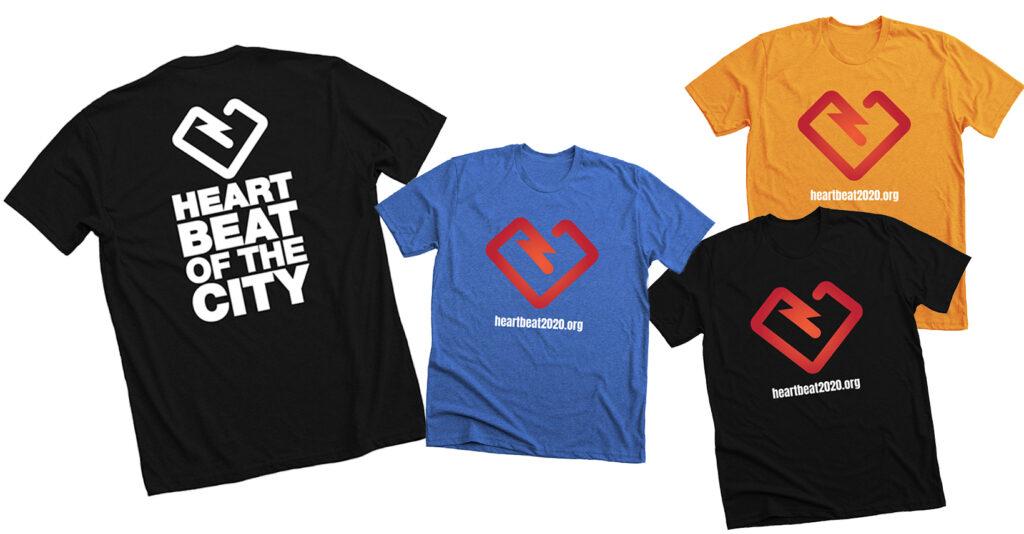 T-Shirt Heart Beat 2020